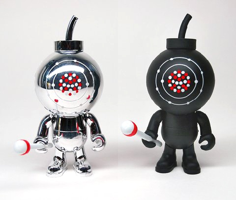 "Limited edition Aluminium 3"" Blow Up Doll"