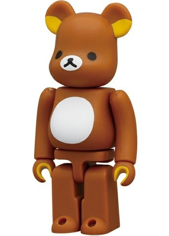 Rilakkuma - Cute Be@rbrick Series 23 figure by San-X, produced by Medicom Toy. Front view.