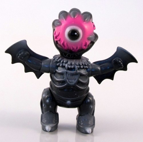 Buff Monster - Baby Hell Custom (Black) figure by Buff Monster. Front view.