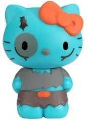 Hello Kitty Zombie Vinyl Figure figure by Sanrio, produced by Funko. Front view.