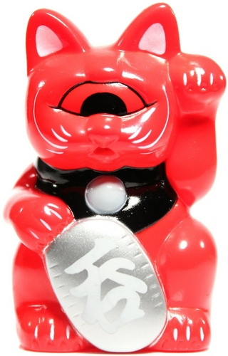 Mini Fortune Cat - Red, SDCC '11