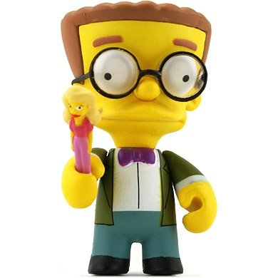 Smithers figure by Matt Groening, produced by Kidrobot. Front view.