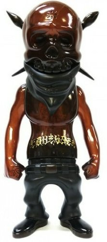 Rebel Ink - Golden Week  figure by Usugrow, produced by Secret Base. Front view.