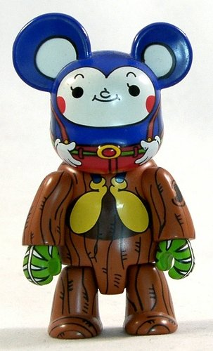 CuCu Mouse figure by Kei Sawada, produced by Toy2R. Front view.