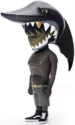 Jaws - Rotofugi  figure by Mark Landwehr, produced by Coarsetoys. Front view.