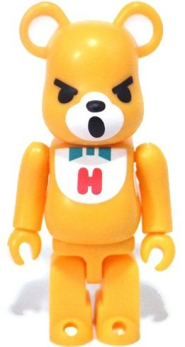 Hysteric Bear - Secret Be@rbrick Series 20 figure by Hysteric Glamour, produced by Medicom Toy. Front view.