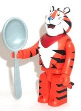Tony the Tiger figure, produced by Medicom Toy. Front view.