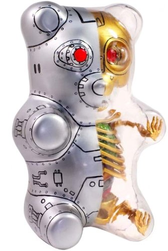 Anatomical Gummi Bear 3D Puzzle - Terminator figure by Jason Freeny ...