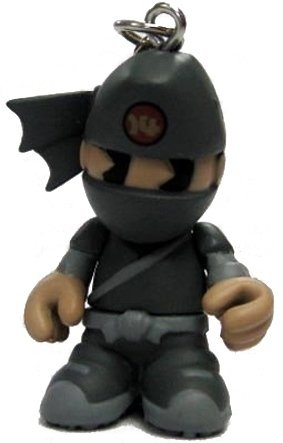 KidNinja figure, produced by Kidrobot. Front view.