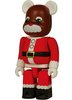 Santa X'mas Twin Be@rbrick 100% 2004