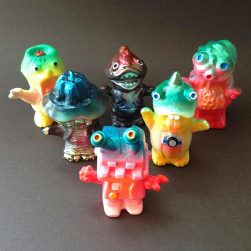 "Apache Monster Army ""Secret"" set, Angel Abby exclusive"