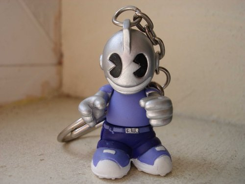 True figure, produced by Kidrobot. Front view.