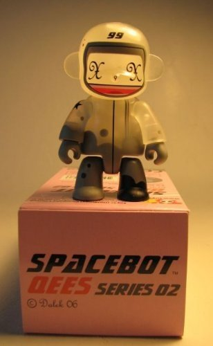 Spacebot 99 figure by Dalek. Front view.