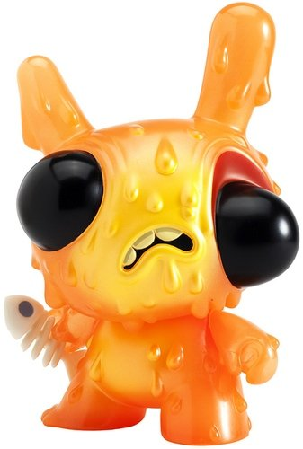 Meltdown - International Exclusive figure by Chris Ryniak, produced by Kidrobot. Front view.