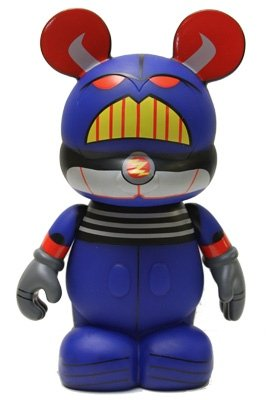 Vinylmation - Zurg figure, produced by Disney. Front view.