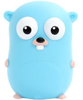 The Go Gopher figure by Renee French // Rotocasted: Toy collecting