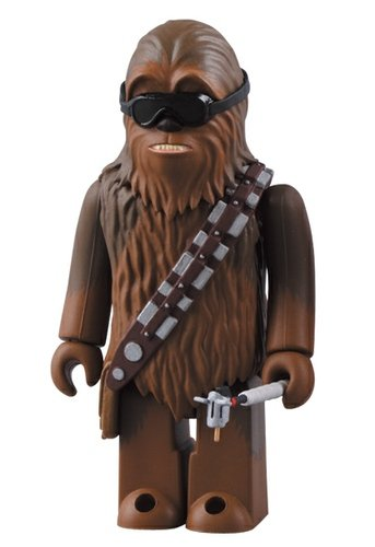 Chewbacca Mechanic figure by Lucasfilm Ltd., produced by Medicom Toy. Front view.