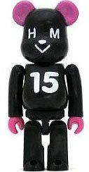 HMV 15th Anniversary - Secret Be@rbrick Series 10 figure by Hmv, produced by Medicom Toy. Front view.