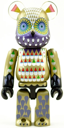 Klaus Haapaniemi - Secret Artist Be@rbrick Series 25