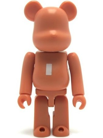 Basic Be@rbrick Series 19 - I figure, produced by Medicom Toy. Front view.