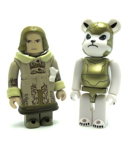 The Golden Compass - Kubrick/ Be@rbrick Set figure, produced by Medicom Toy. Front view.