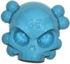 Candy Colored Skullhead - Aqua Blue