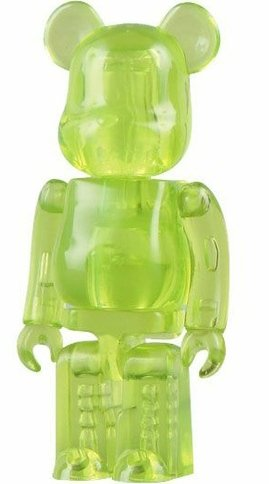Jellybean Be@rbrick Series 16 figure, produced by Medicom Toy. Front view.