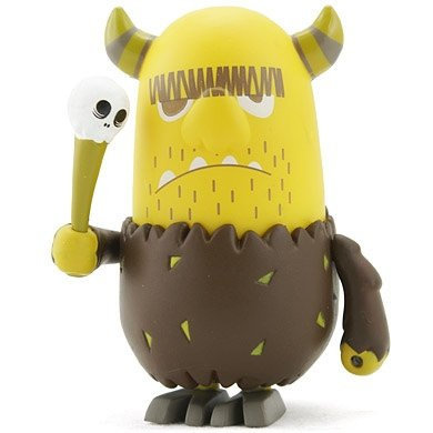 Orr  figure by Peskimo, produced by Kidrobot. Front view.
