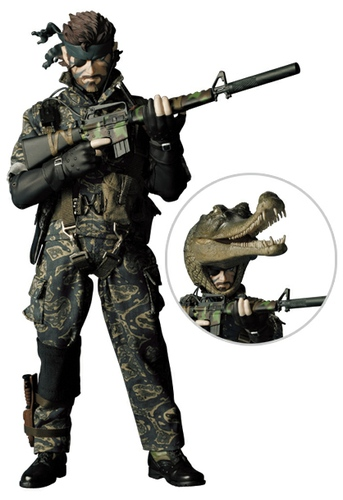 Metal Gear Solid 3 Snake Croc Cap - RAH No.228