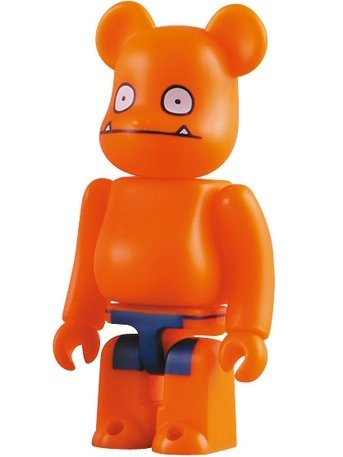 Wage - Horror Be@rbrick Series 19 figure by David Horvath, produced by Medicom Toy. Front view.