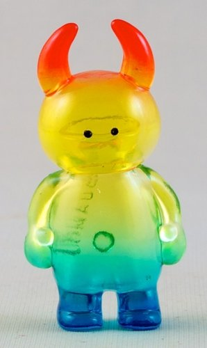 Micro Uamou - Clear Rainbow figure by Ayako Takagi. Front view.