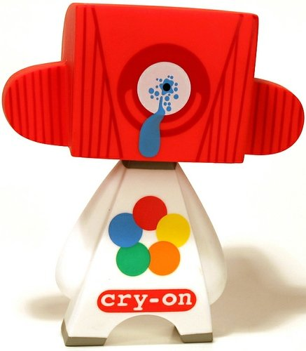 cry-on figure by Jeremy Madl (Mad), produced by Solid. Front view.