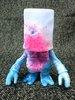 666 Skull BxBxBalzac Bagman - Pink Splatter, Shocker Exclusive