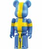 Sweden - Flag Be@rbrick Series 16