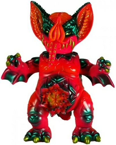 Mockbat Lucifer Punk with Hellmock - 92 figure by Paul Kaiju. Front view.