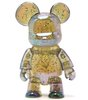 Metallic Bear Qee - Clear Glitter
