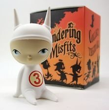Wandering Misfits - Ash figure by Brandt Peters X Kathie Olivas, produced by Cardboard Spaceship. Front view.