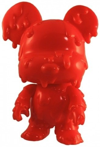 5 Melting Bear Qee  figure by Toy2R, produced by Toy2R. Front view.