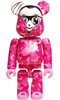 Stay Real 'Pink Camo' Be@rbrick 100%