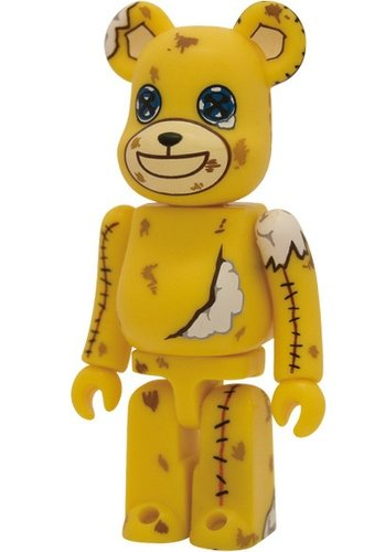 SF Be@rbrick Series 16 figure by Kenji Ootsuki, produced by Medicom Toy. Front view.
