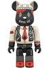 Anna Sui Be@rbrick 100% - Black