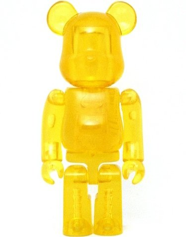 Jellybean Be@rbrick Series 8 figure, produced by Medicom Toy. Front view.