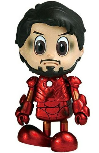 Tony Stark - Mark 3 Battle Damaged Ver. (Japan Exclusive) figure by Marvel, produced by Hot Toys. Front view.