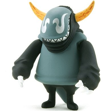 Bayne figure by Touma, produced by Kidrobot. Front view.