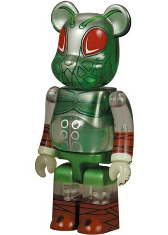 Cocobat - Animal Be@rbrick Series 8 figure by Pushead, produced by Medicom Toy. Front view.