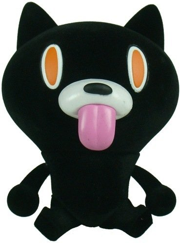 Cheeky Mao Cat - Black Flocked Ver. figure by Touma, produced by Play Imaginative. Front view.