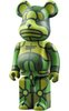 X-LARGE x Flores Be@rbrick - 400%
