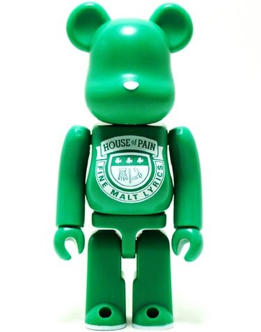 House of Pain - Artist Be@rbrick Series 22 figure by House Of Pain, produced by Medicom Toy. Front view.