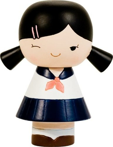 Sakura figure by Momiji, produced by Momiji. Front view.