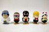 Dr Slump Arale Norimaki wire chain movable figure(complete set of 5)